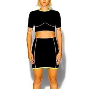 Adidas Ivy Park Black Crop Top 2.2 Drip M (NWT)